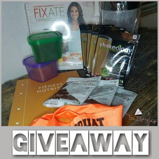 The Flighty Life 16 Days of Giveaways