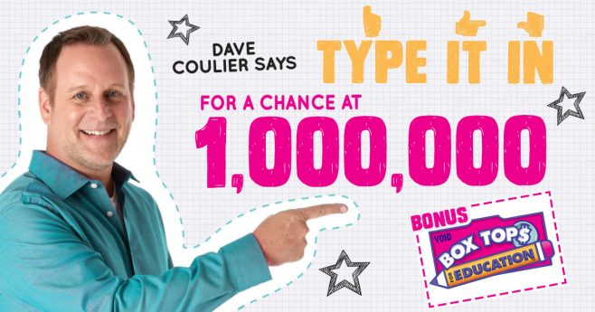 General Mills 1 Million Box Tops Sweepstakes