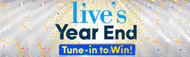 LIVE's Year End Tune in To Win