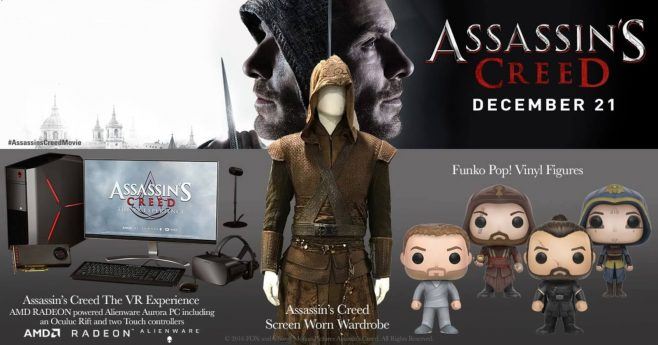 AMC Theatres Assassin's Creed Giveaway