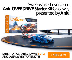 Anki OVERDRIVE Starter Kit Giveaway