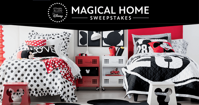 Disney Magical Home Sweepstakes 2017 (Disney.com/MagicalHomeSweeps)