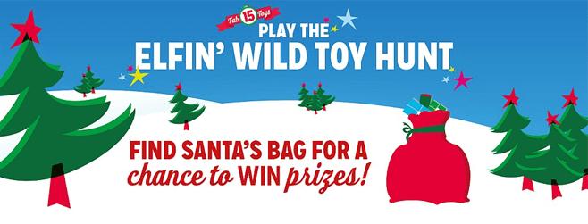 Kmart Elfin' Wild Toy Hunt