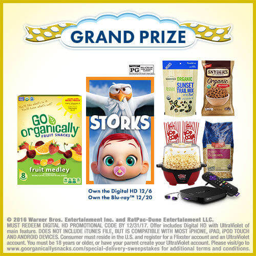 Go Organically Special Delivery Sweepstakes