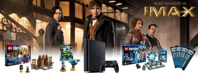 Fantastic Beasts LEGO Dimensions IMAX Sweepstakes