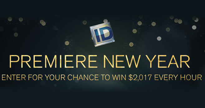 Investigation Discovery Premiere New Year Giveaway 2017 (InvestigationDiscovery.com/2017Giveaway)
