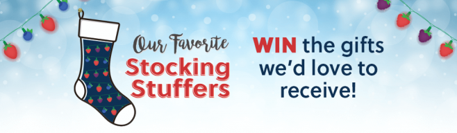 California Giant Berry Farms Our Favorite Stocking Stuffers Sweepstakes