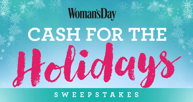 Woman's Day Pay Your Bills Sweepstakes
