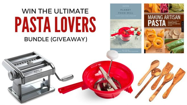 Alisa Home Ultimate Pasta Lovers Bundle Giveaway