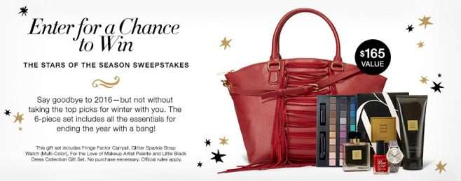 Avon The Stars of the Season Sweepstakes