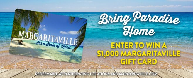 Margaritaville's Bring Paradise Home Giveaway