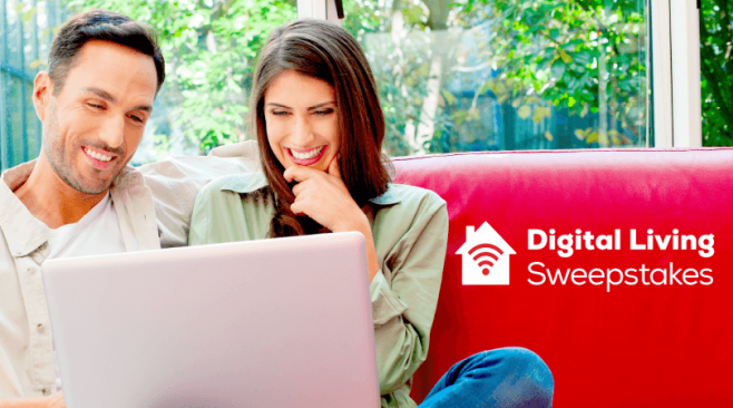 Frontier Communications Digital Living Sweepstakes