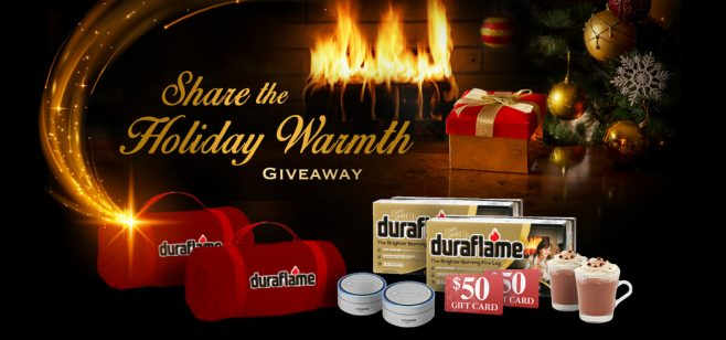 Duraflame Share the Holiday Warmth Giveaway