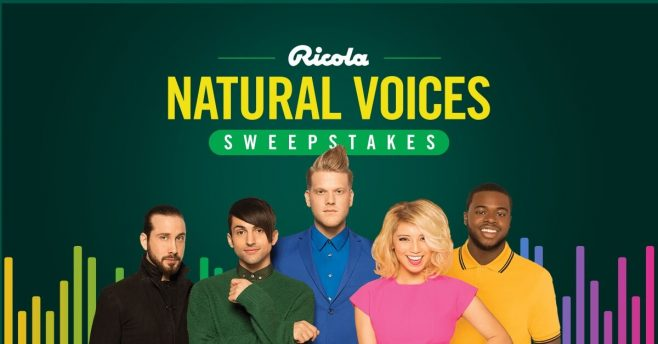 Ricola Natural Voices Sweepstakes