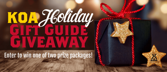 KOA Holiday Gift Guide Sweepstakes