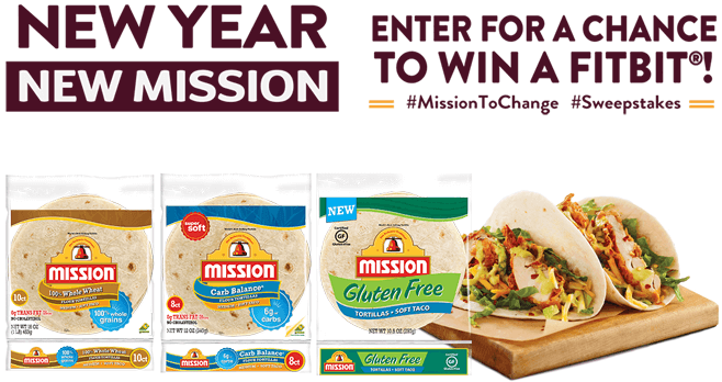 Mission Foods Mission To Change Sweepstakes (MissionToChange.com)