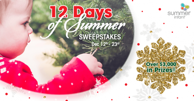 Summer Infant 12 Days of Summer Sweepstakes