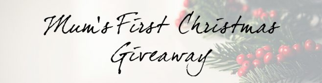 Storksak Mum's First Christmas Giveaway