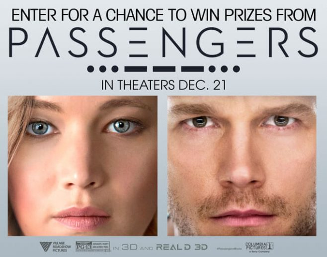 Bow Tie Cinemas Passengers Sweepstakes