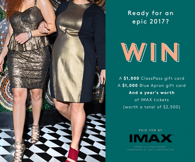 Refinery29 + IMAX Sweepstakes
