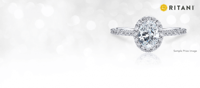 Ritani Ring in the New Year Sweepstakes