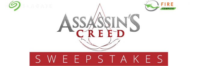Seagate Assassin's Creed Sweepstakes