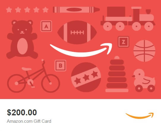 MyPointSaver $200 Amazon.com Gift Card Sweepstakes