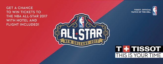 Tissot NBA All-Star 2017 Sweepstakes