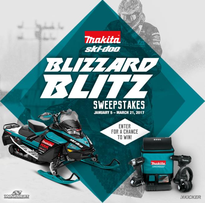 Makita Blizzard Blitz Sweepstakes