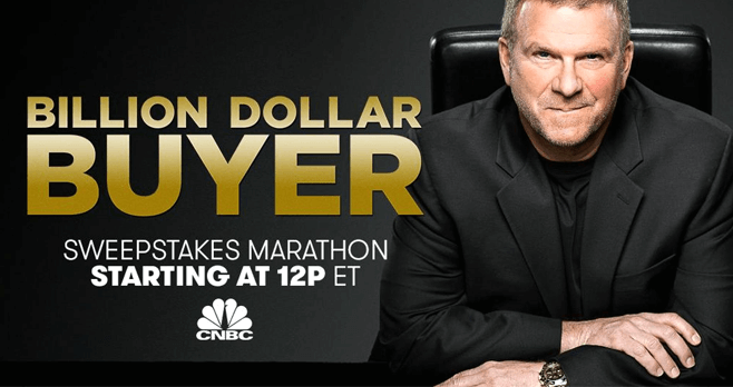 CNBC Billion Dollar Buyer Marathon Sweepstakes (BillionDollarBuyer.CNBC.com)