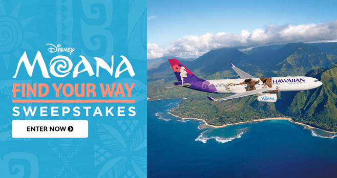 Disney Moana Find Your Way Sweepstakes