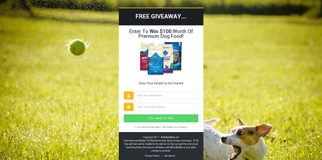 BarkBarkBark $100 Dog Food Giveaway