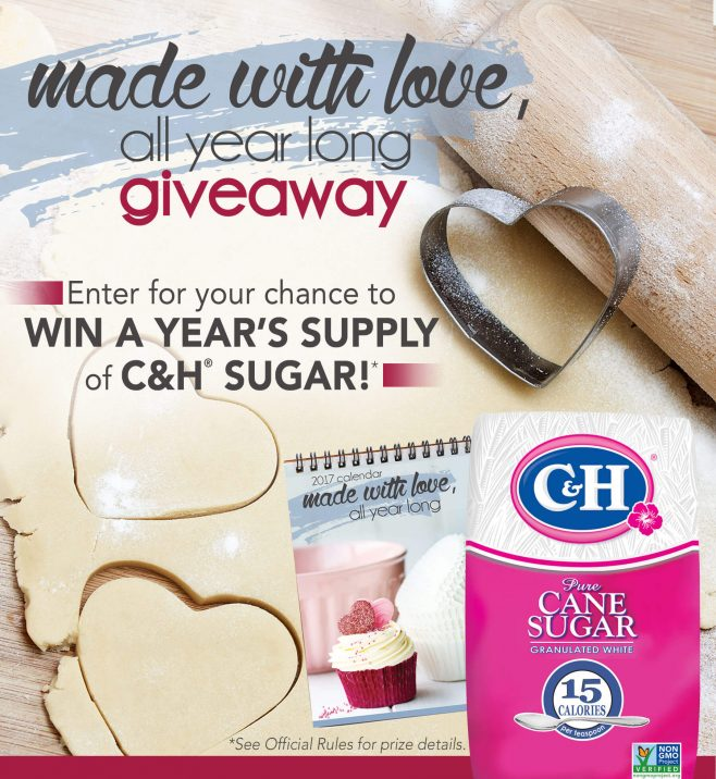 C&H Sugar's Made With Love All Year Round Giveaway