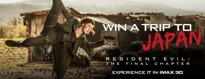 Resident Evil IMAX Sweepstakes