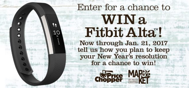 Price Chopper New Year, New You Resolution Sweepstakes