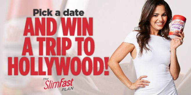 OK Magazine's SlimFast Pick a Date Sweepstakes