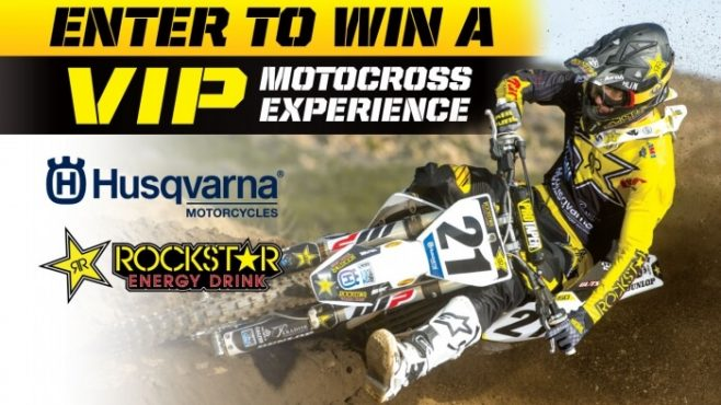 Rockstar National SX Husqvarna Sweepstakes