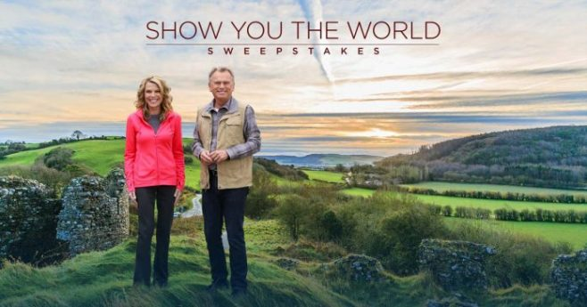 Wheel Of Fortune Show You the World Sweepstakes