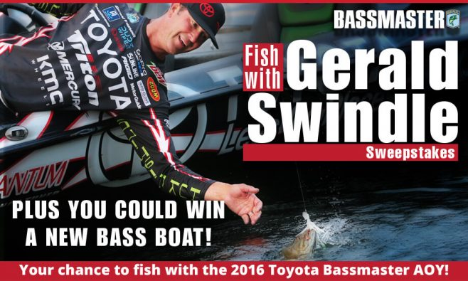 Bassmaster Fish With Gerald Swindle Sweepstakes