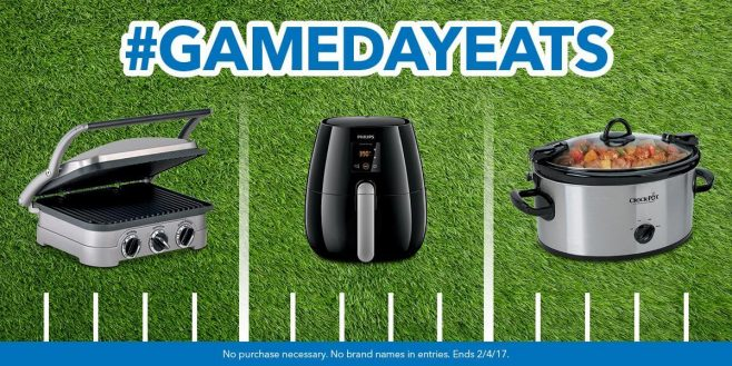 Best Buy #GameDayEats Sweepstakes