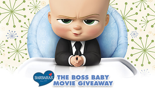 Barbara's The Boss Baby Movie Giveaway