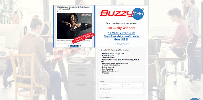BuzzyCircles Sweepstakes