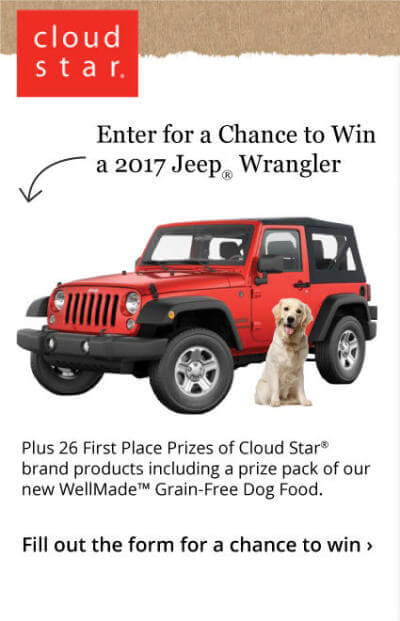 Cloud Star WellMade Win a Jeep Wrangler Sweepstakes