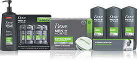 dove men qualifying products