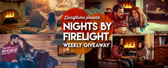 duraflame Nights by Firelight Weekly Giveaway