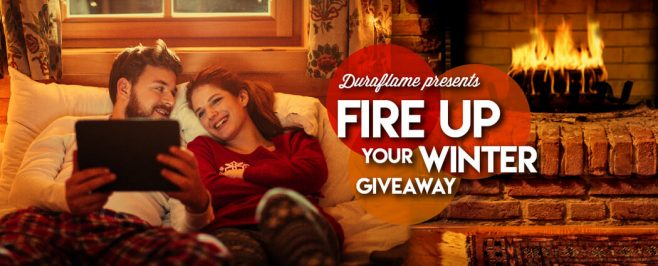 duraflame Fire Up Your Winter Giveaway