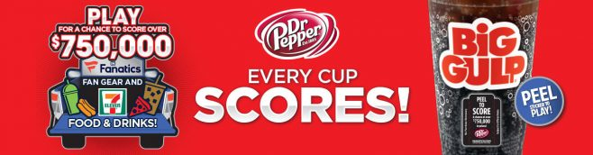 2017 Dr Pepper and 7-Eleven Instant Win Giveaway