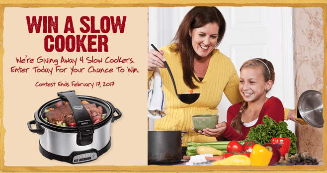 Furmanos.com Slow Cooker Sweepstakes