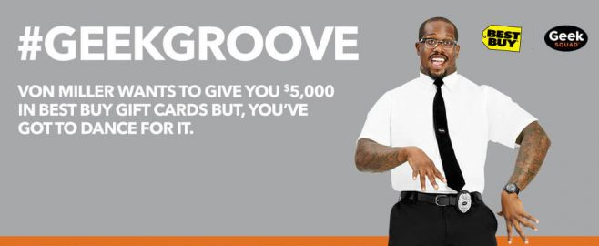 Best Buy Von Miller #GeekGroove Sweepstakes