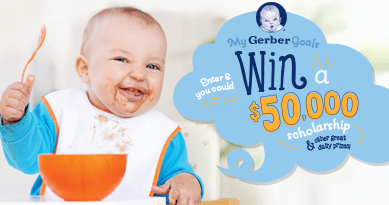 MyGerber Goals Sweepstakes & Instant Win Game